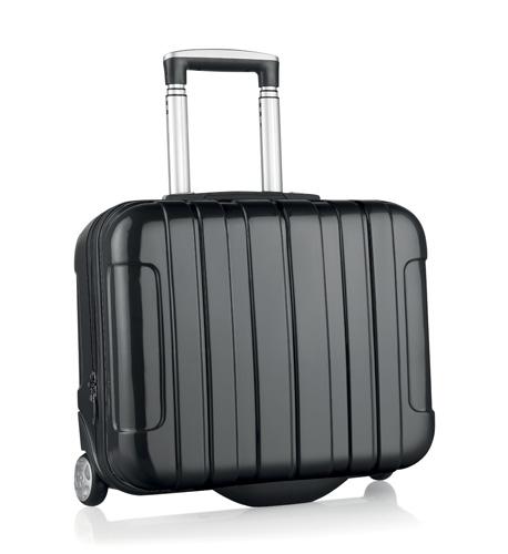 Sucan černý kufr na kolečkách