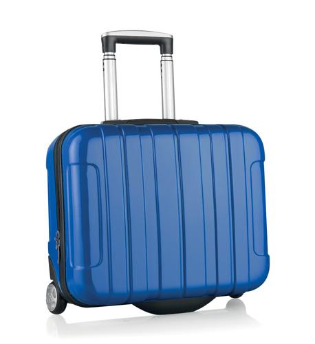 Sucan modrý kufr na kolečkách