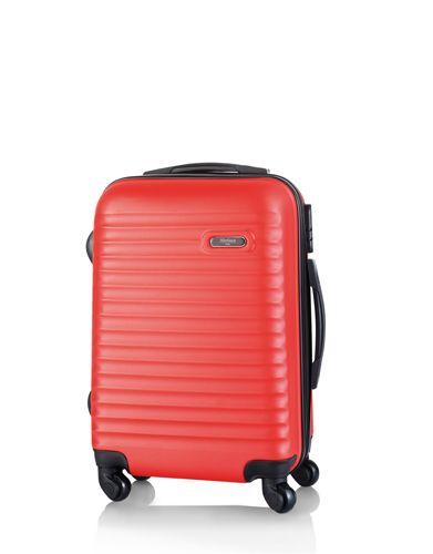 Kufr na kolečkách červený
