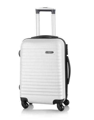 Kufr na kolečkách bílý