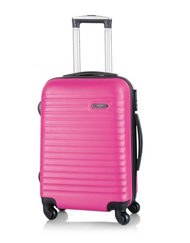 Kufr na kolečkách růžový