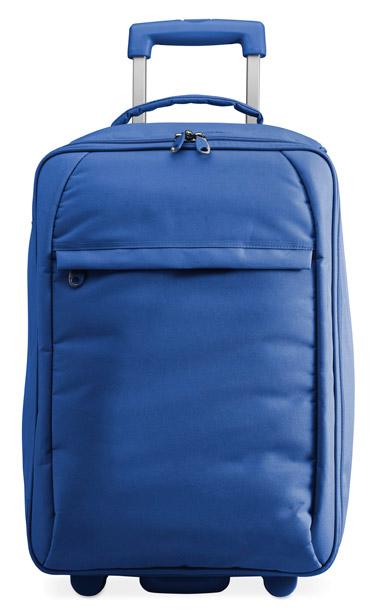Modrá taška na kolečkách Tou