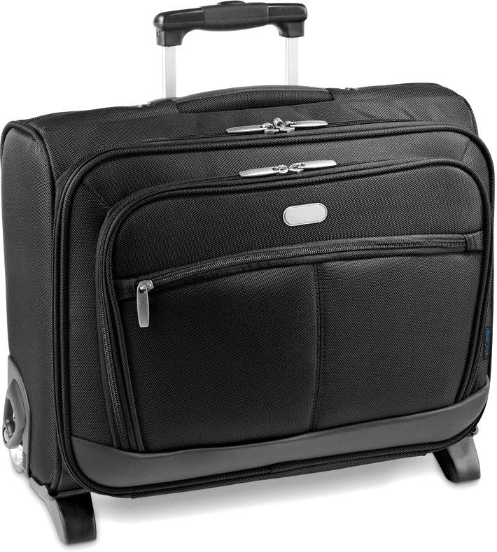 Kufr na kolečkách pro laptop černý