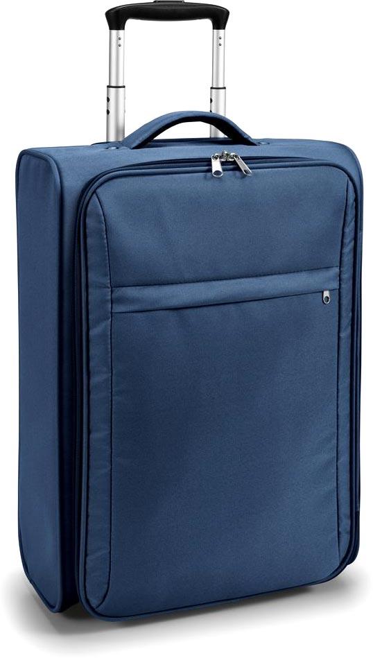 Kufr na kolečkách modrý