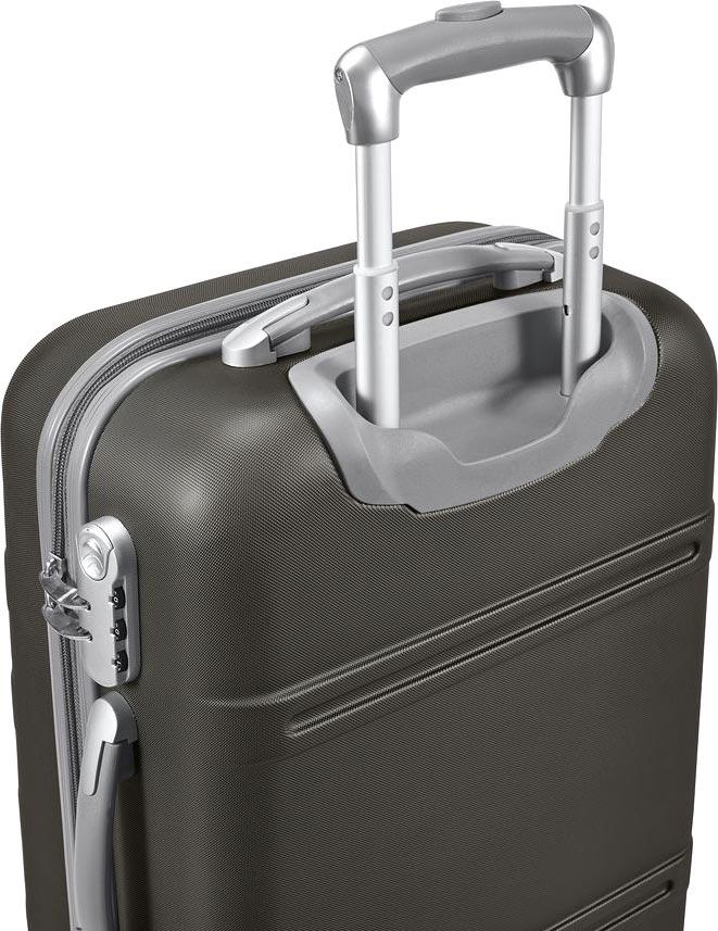 Kufr na kolečkách černý