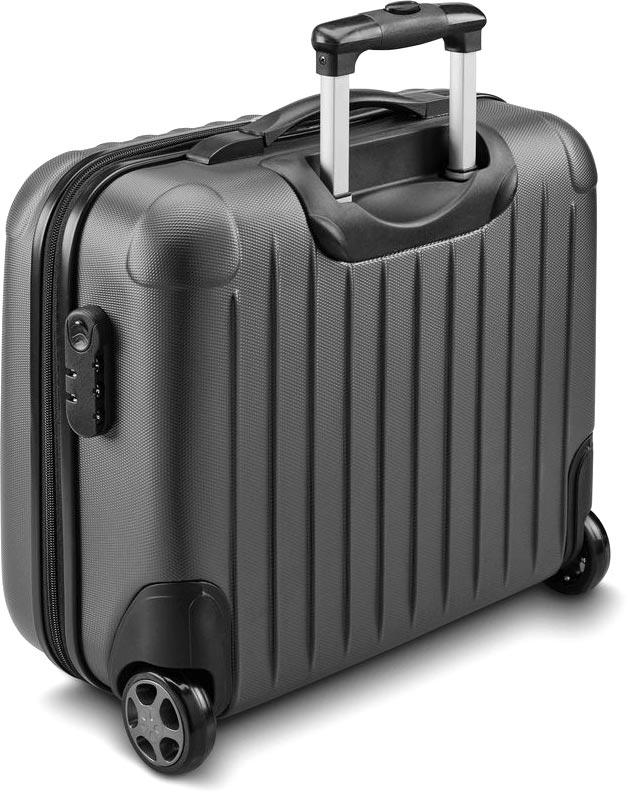 Kufr na kolečkách pro laptop šedý