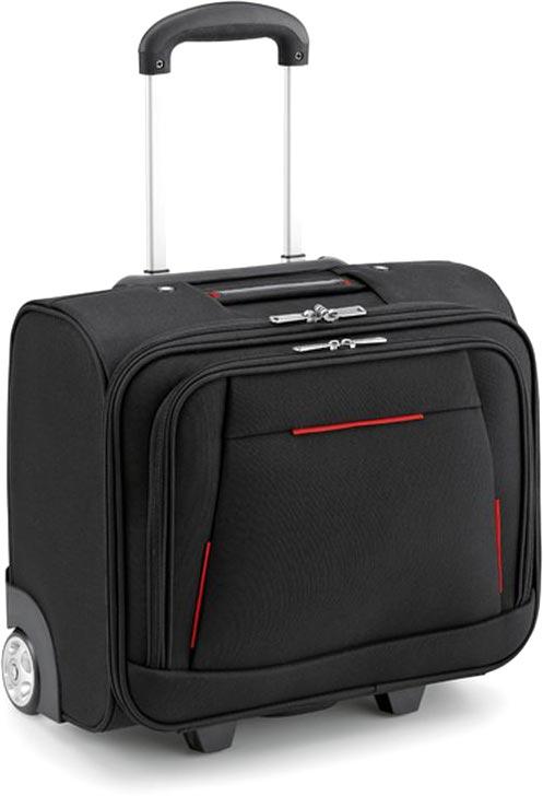 Kufr na kolečkách na laptop červený