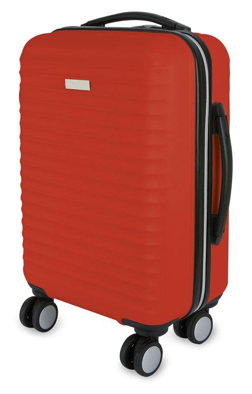 Kufr  červená