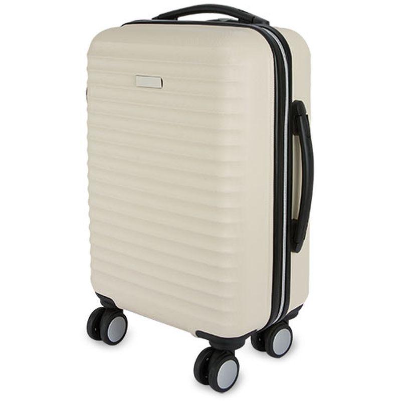 Kufr  krémová