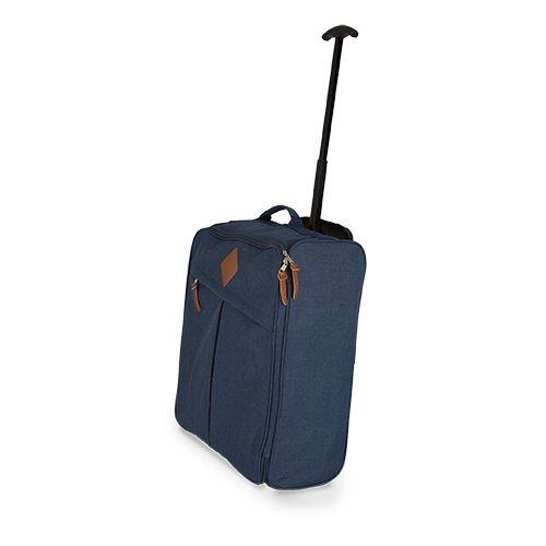 Cestovní kufr Lugano modrý