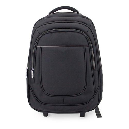 Cestovní batoh s kolečky černo-šedý