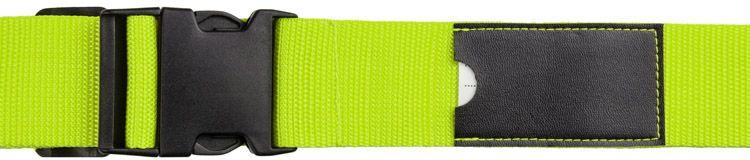 Popruh na zavazadla NODO světle zelená