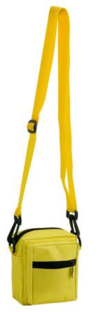 Žlutá taška přes rameno zapínatelná