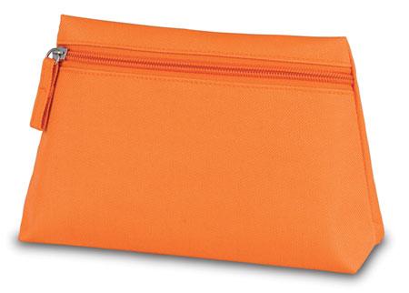 Oranžová kosmetická taška