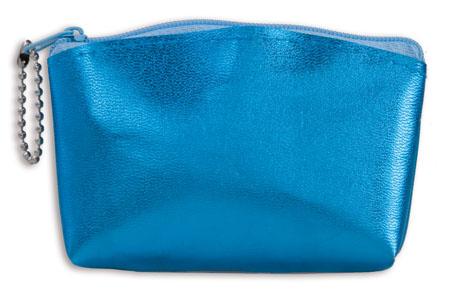 Modrá kosmetická taška
