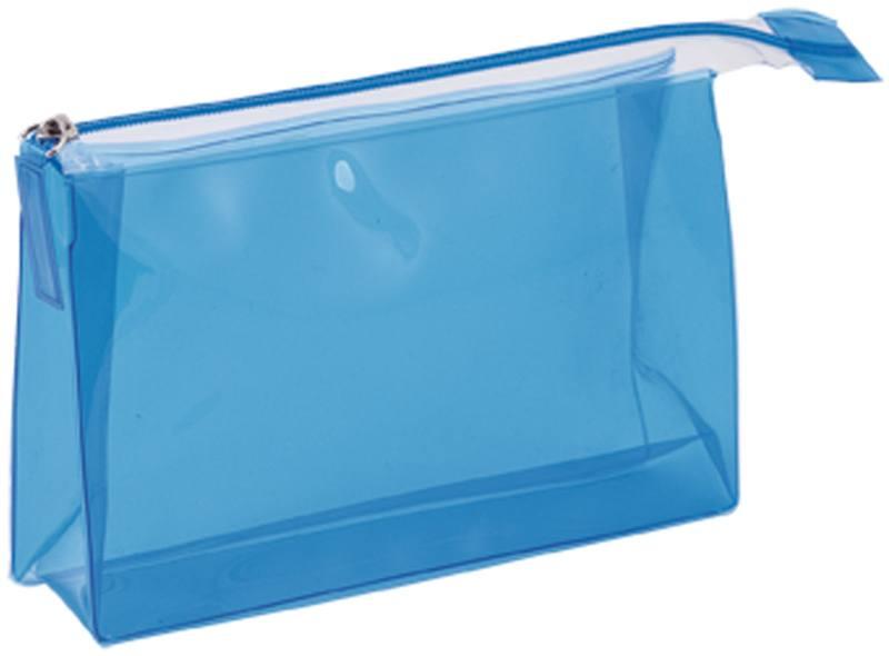 Lux modrá kosmetická taška