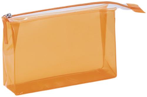 Lux oranžová kosmetická taška