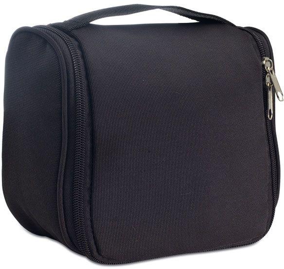 Černá kosmetická taška na pověšení