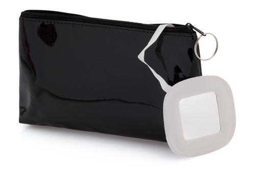 Xan černá kosmetická taška