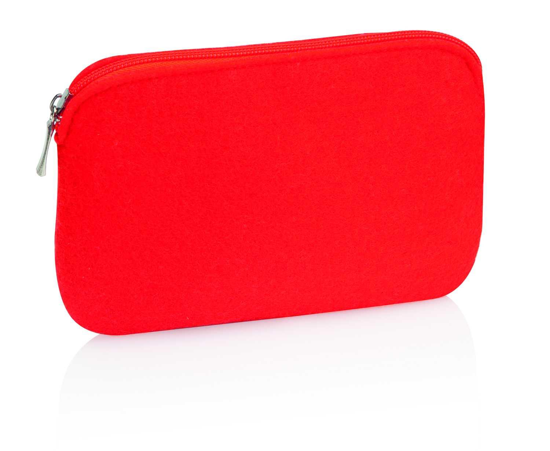 Elsa červená kosmetická taška