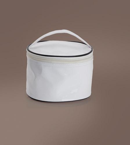 Hara bílá kosmetická taštička