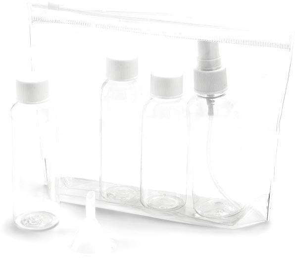 Kosmetická taštička transparentní
