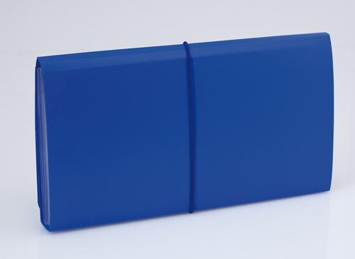 Lemek modrý obal na dokumenty