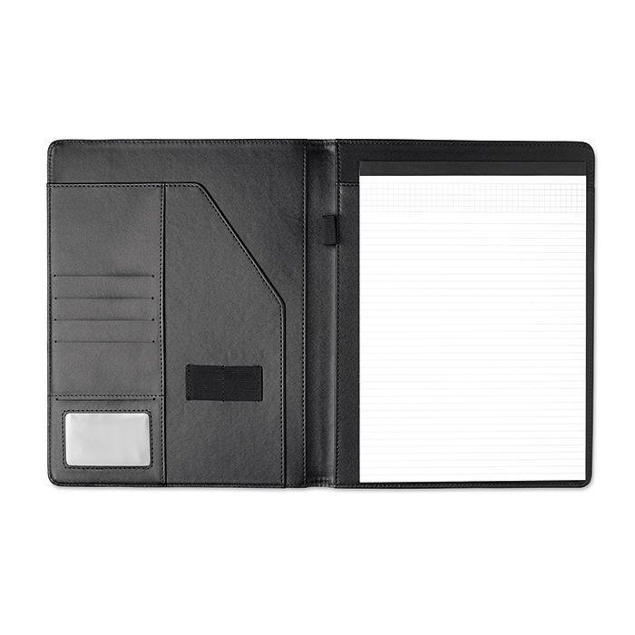A4 PU portfolio černé