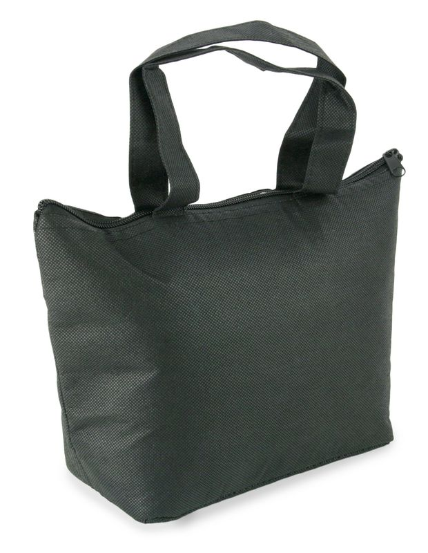 Plážová termo taška černá