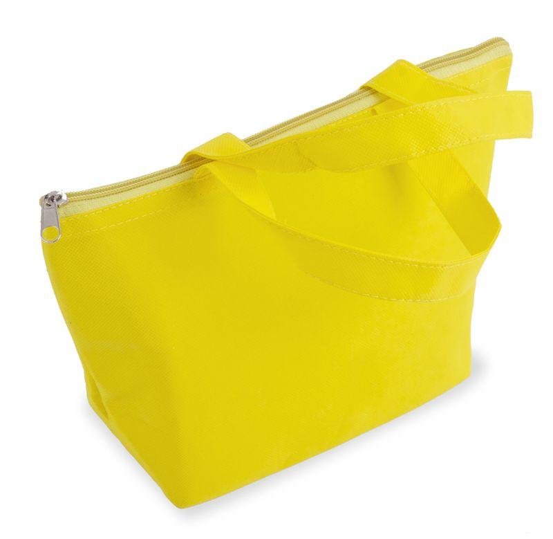 Plážová termo taška žlutá