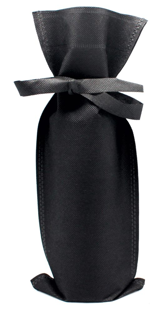 Thermo taška na víno černá