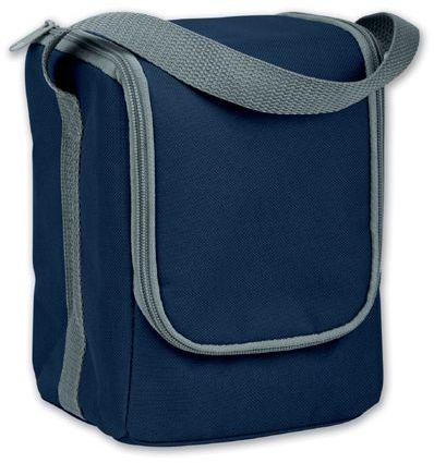 ANTIK textilní termotaška, tmavě modrá