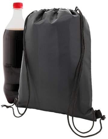 Stahovací batoh, černá