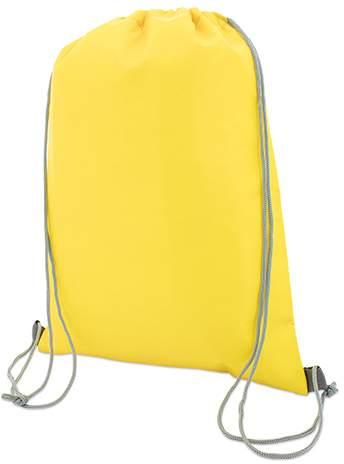 Stahovací batoh, žlutá