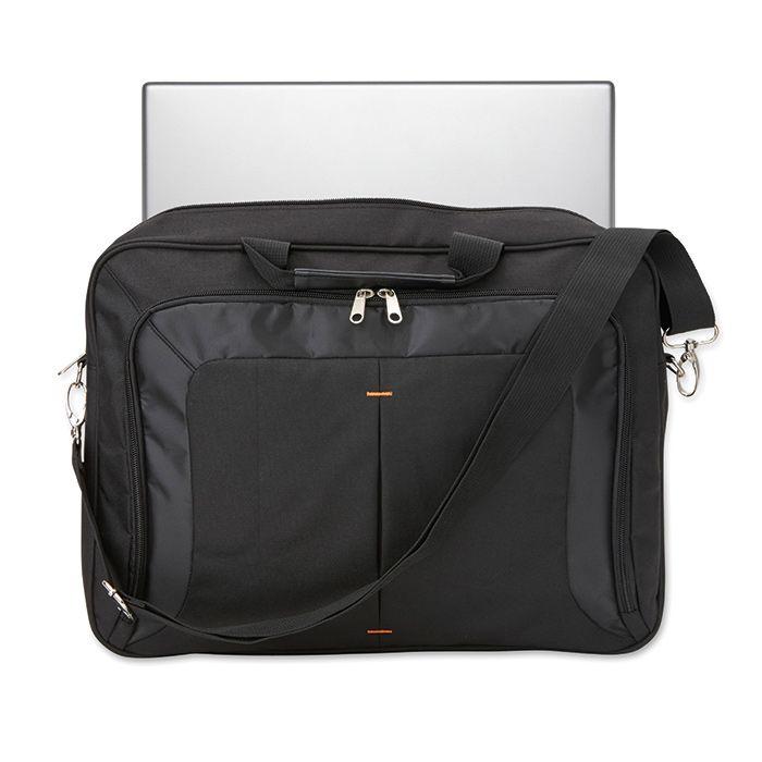 Černá taška na 17palcový notebook