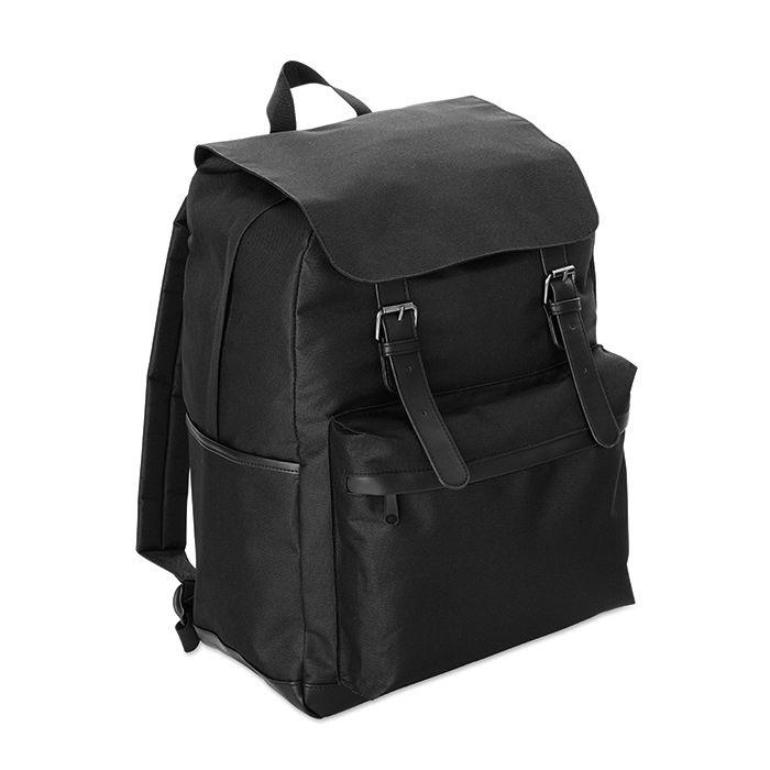 Černý 15palcový notebook batoh