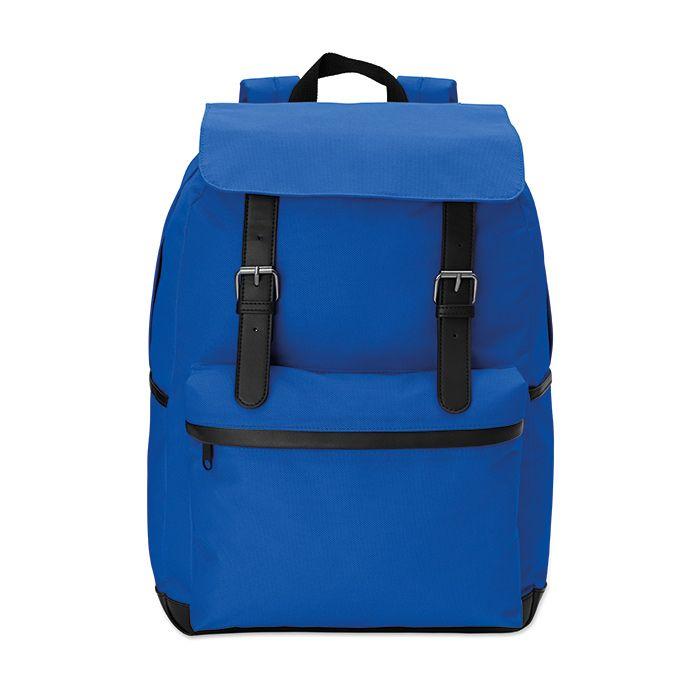 Modrý 15palcový notebook batoh