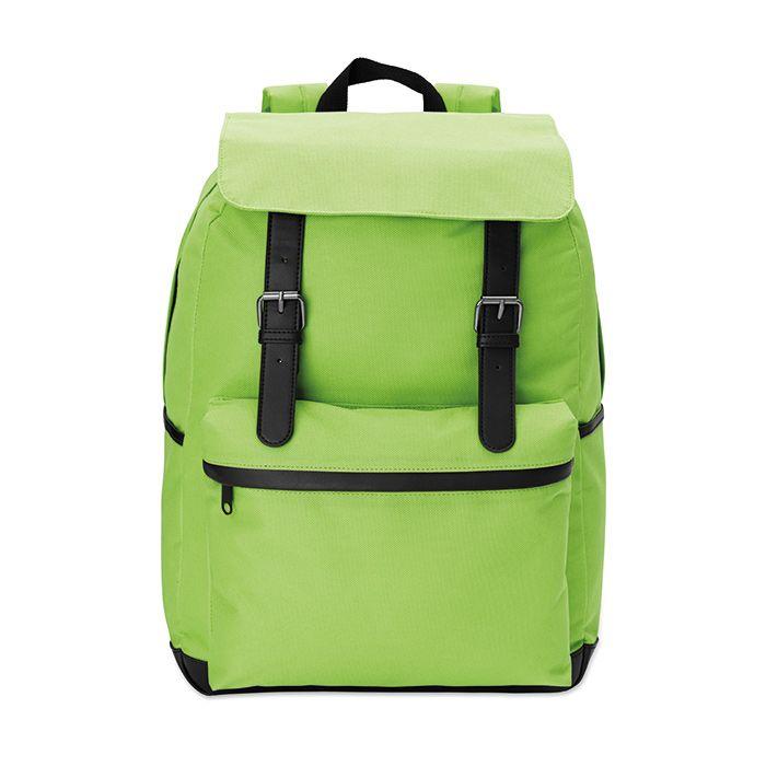 Zelený 15palcový notebook batoh