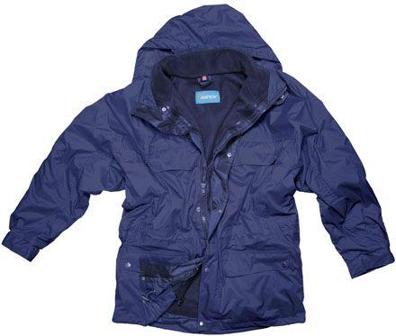 ASPEN Nordic kabát modrý