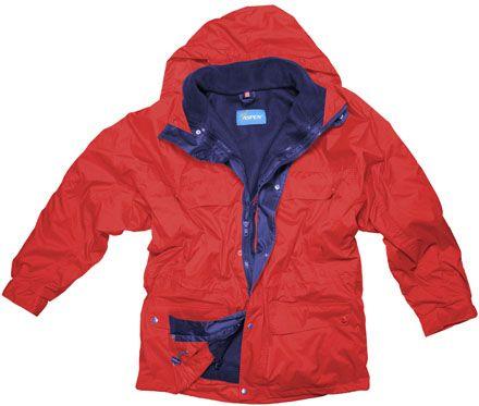 ASPEN Nordic kabát červený