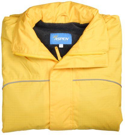 ASPEN Atlantic kabát žlutý