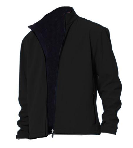 Softshellová pánská bunda černá