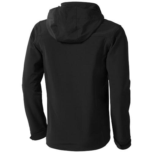 Langley softshellová bunda černá