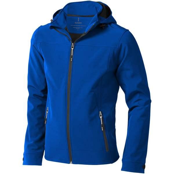 Langley softshellová bunda modrá
