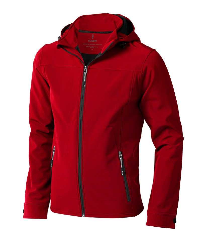 Langley softshellová bunda červená