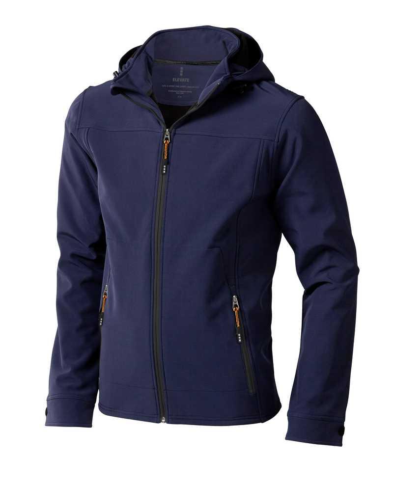 Langley softshellová bunda světle modrá