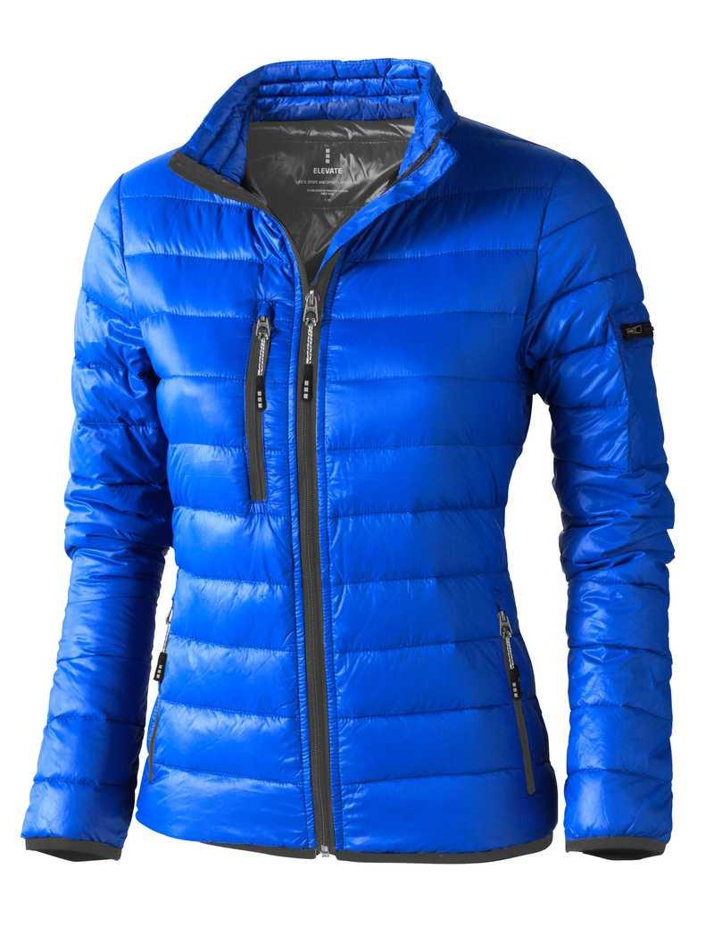 Scotia lehká dámská péřová bunda modrá