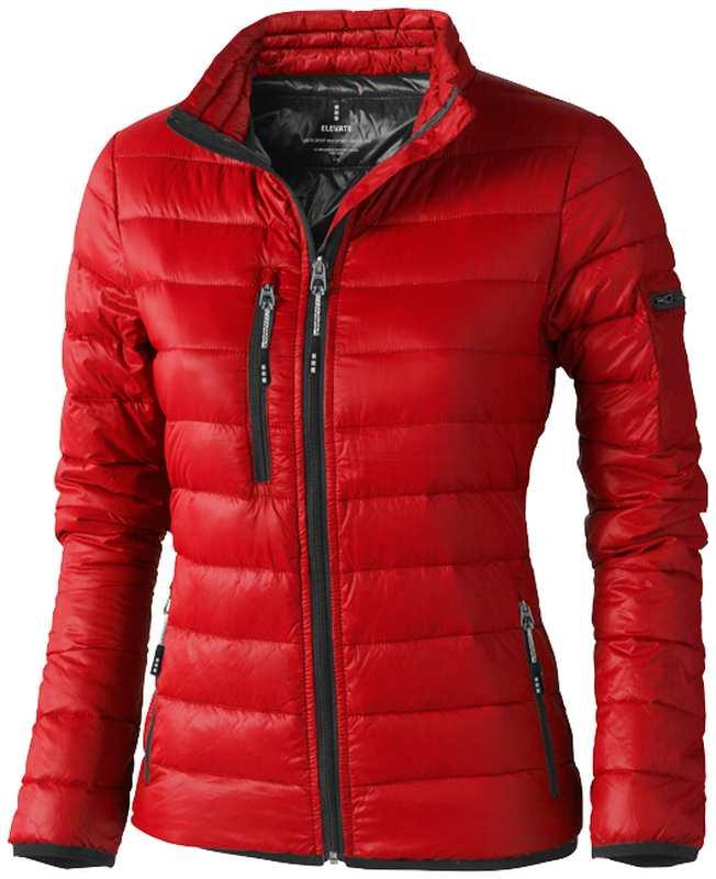 Scotia lehká dámská péřová bunda červená