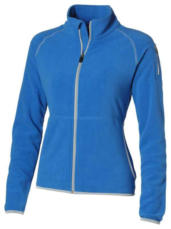 Microfleece modrá bunda dámská