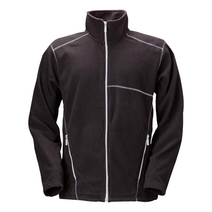Pánská fleece bunda černá